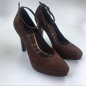 BCBGirls, ankle strap heels